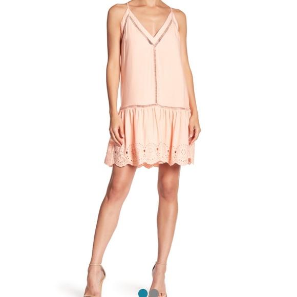 BB Dakota Dresses & Skirts - B.B. Dakota Kayleen Eyelet Hem Sundress